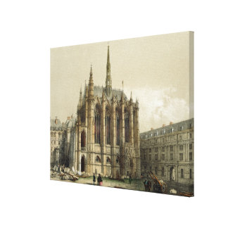 La Sainte Chapelle, Paris Canvas Print
