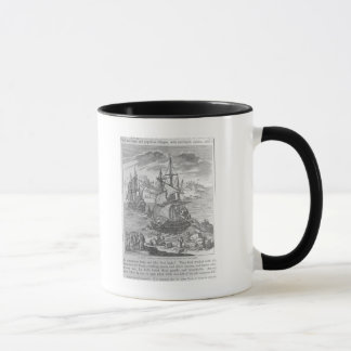 La Salle's Landing in Texas Mug