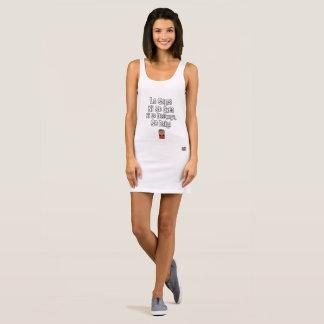 La salsa ni se crea ni se destruye, se baila Women Sleeveless Dress