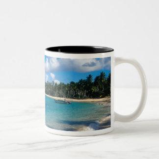 La Samana Peninsula, Dominican Republic, 2 Two-Tone Coffee Mug