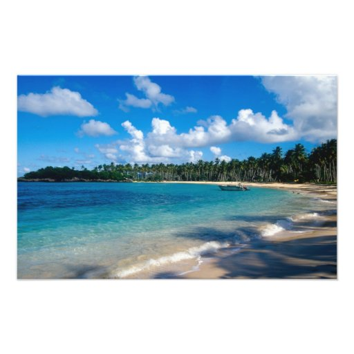 La Samana Peninsula, Dominican Republic, Photographic Print