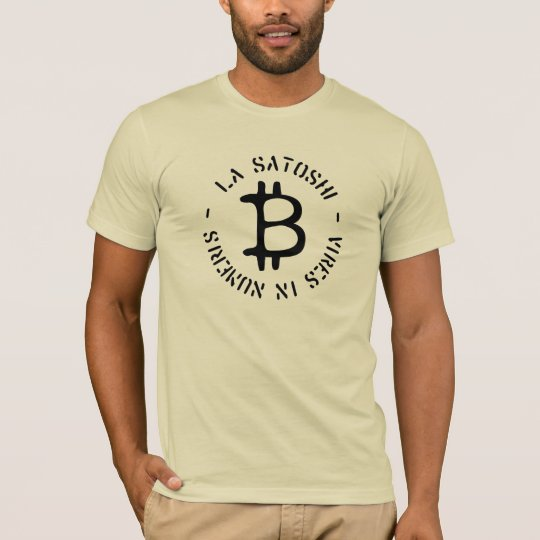 """La Satoshi - Vires in Numeris"" Bitcoin T-Shirt"