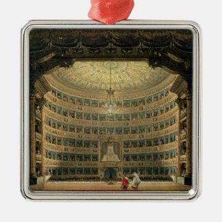 La Scala, Milan, during a performance Christmas Ornament