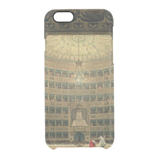La Scala, Milan, during a performance Clear iPhone 6/6S Case