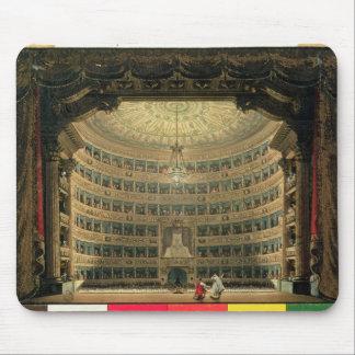 La Scala, Milan, during a performance Mouse Mat