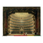 La Scala, Milan, during a performance Postcards