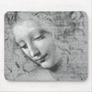 La Scapigliata by Leonardo da Vinci Mouse Pad
