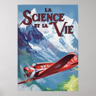 La Science et la Vie France - 1932 Poster