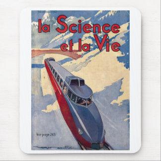 La science et la vie mouse mat