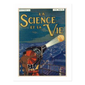 La science et la vie postcard