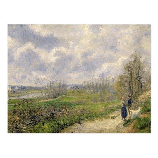 La Sente du Chou, near Pontoise, 1878 Postcard