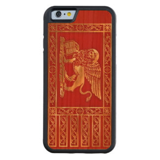 La Serenissima Carved Cherry iPhone 6 Bumper Case