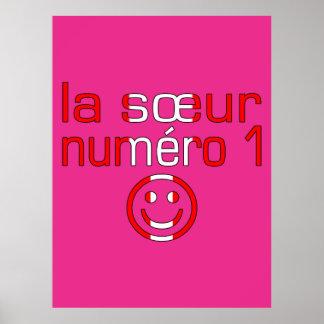 La Sœur Numéro 1 - Number 1 Sister in Canadian Print