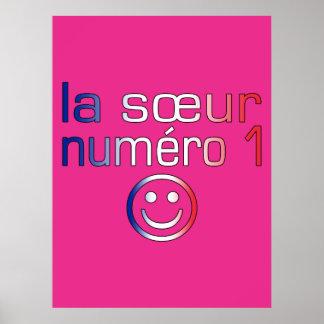 La Sœur Numéro 1 ( Number 1 Sister in French ) Print
