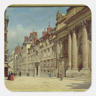 La Sorbonne Square Sticker