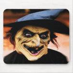 La sorci�re d'Halloween - Tapis De Souris