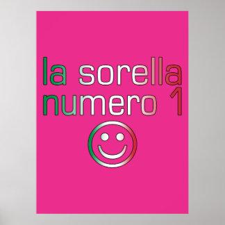 La Sorella Numero 1 - Number 1 Sister in Italian Posters