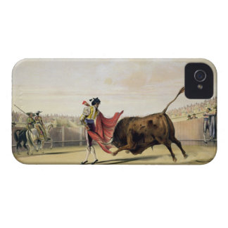 La Suerte de la Capa, 1865 (colour litho) iPhone 4 Covers