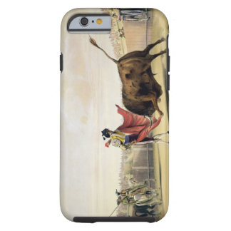 La Suerte de la Capa, 1865 (colour litho) Tough iPhone 6 Case