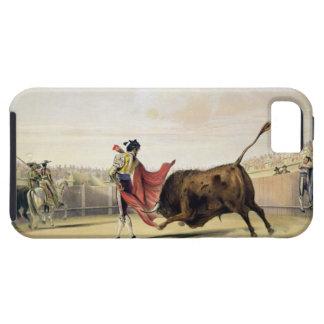 La Suerte de la Capa, 1865 (colour litho) iPhone 5 Case