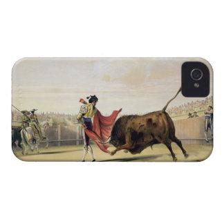 La Suerte de la Capa, 1865 (colour litho) iPhone 4 Case-Mate Cases