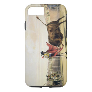 La Suerte de la Capa, 1865 (colour litho) iPhone 7 Case