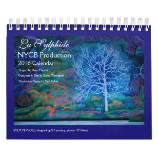 LA SYLPHIDE 2016 Calendar