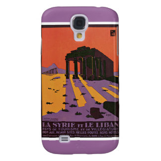 La Syrie et le Liban French Vintage Travel Galaxy S4 Cases
