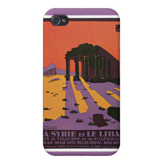 La Syrie et le Liban French Vintage Travel iPhone 4/4S Cover
