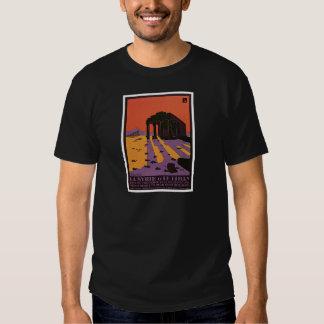La Syrie Et Le Liban Palmyre T-shirts