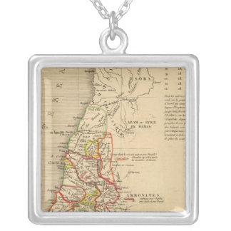 La Terre Sainte sous Salomon Silver Plated Necklace