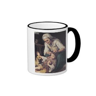 La Toilette Domestique', 1670-75 Ringer Mug