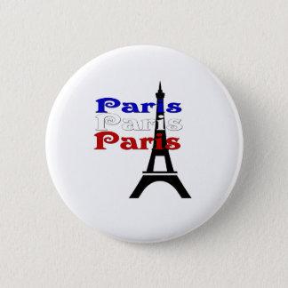 La Tour Eiffel 6 Cm Round Badge
