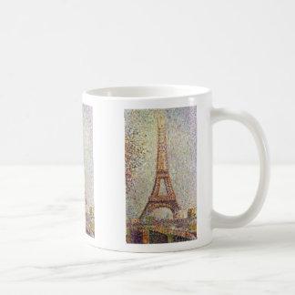 La Tour Eiffel By Seurat Georges Coffee Mugs