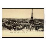 La Tour Eiffel, Paris France c1910 Vintage Greeting Card