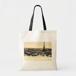 La Tour Eiffel, Paris France c1910 Vintage Tote Bag