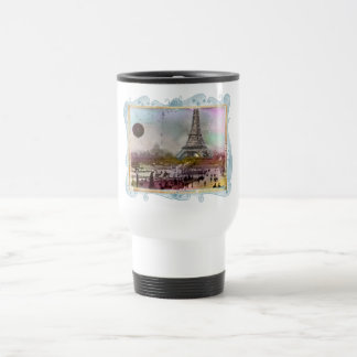 La Tour Eiffel Travel Mug