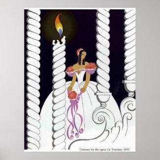 La Traviata 1935 Print