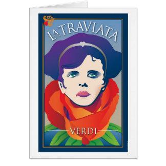 La Traviata, Opera Card