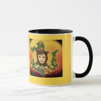 La Trinacria Coffee Mug