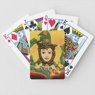 La Trinacria Playing Cards