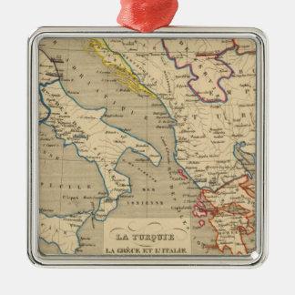 La Turquie, la Grece et l'Italie de 1700 a 1840 Christmas Ornament