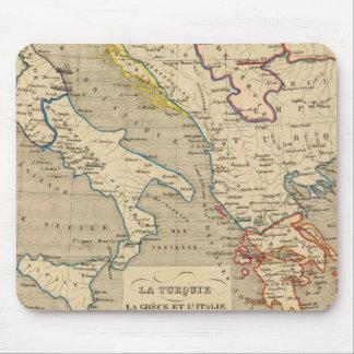 La Turquie, la Grece et l'Italie de 1700 a 1840 Mouse Mat
