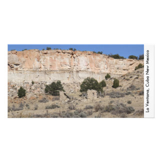 La Ventana in Cuba New Mexico Personalized Photo Card
