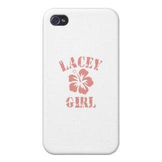 La Verne Pink Girl Case For iPhone 4