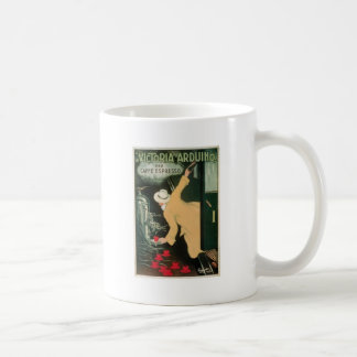 La Victoria Arduino Vintage Coffee Drink Ad Art Coffee Mug