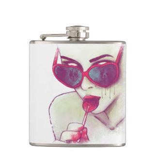 'La Vida Zombie' Flask