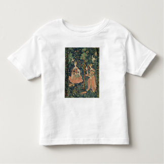 La Vie Seigneuriale: Embroidery, c.1500 Toddler T-Shirt