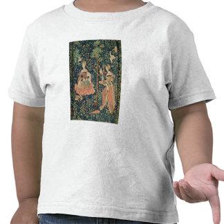 La Vie Seigneuriale: Embroidery, c.1500 Tshirt