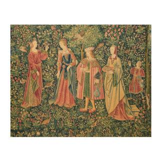 La Vie Seigneuriale: The Promenade Wood Prints